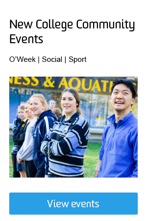 New College Community Events